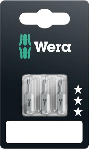 Sechskant-Bit 2.5 mm, 2.5 mm, 3 mm Wera 840/1 Z Set SB SiS Werkzeugstahl legiert, zähhart D 6.3 3 St.