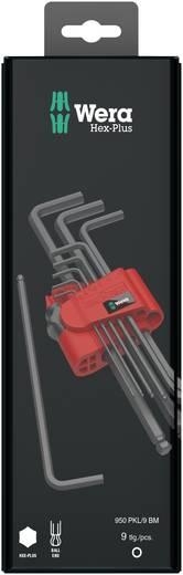 Innen-Sechskant Winkelschraubendreher-Set 9teilig Wera 950 PKL/9 BM SB SiS