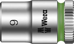"""Douille 6 pans extérieurs 9 mm Longueur: 23 mm Wera 05003508001 Emmanchement: 1/4"""" (6.3 mm) 1 pc(s)"""