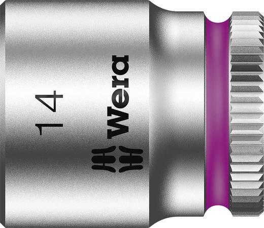 """Außen-Sechskant Steckschlüsseleinsatz 14 mm 1/4"""" (6.3 mm) Produktabmessung, Länge 23 mm Wera 05003513001"""