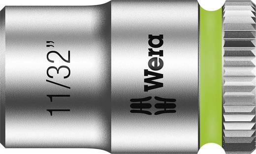 """Außen-Sechskant Steckschlüsseleinsatz 11/32"""" 1/4"""" (6.3 mm) Produktabmessung, Länge 23 mm Wera 05003519001"""