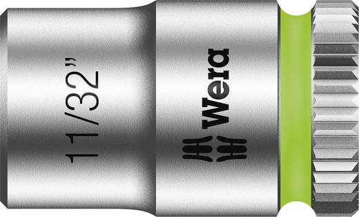 """Wera 8790 HMA 05003519001 Außen-Sechskant Steckschlüsseleinsatz 11/32"""" 1/4"""" (6.3 mm)"""