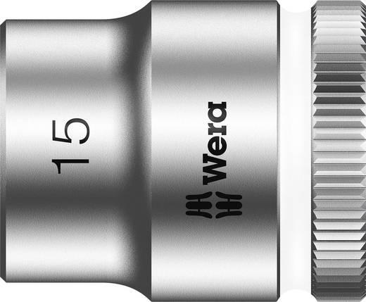 """Außen-Sechskant Steckschlüsseleinsatz 15 mm 3/8"""" (10 mm) Produktabmessung, Länge 29 mm Wera 05003560001"""