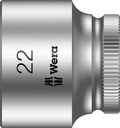 """Außen-Sechskant Steckschlüsseleinsatz 22 mm 3/8"""" (10 mm) Produktabmessung, Länge 30 mm Wera 05003567001"""