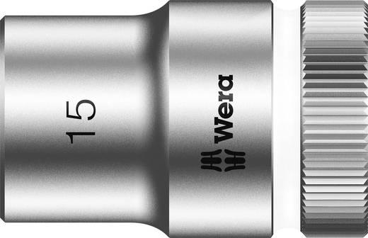 """Außen-Sechskant Steckschlüsseleinsatz 15 mm 1/2"""" (12.5 mm) Produktabmessung, Länge 37 mm Wera 05003606001"""