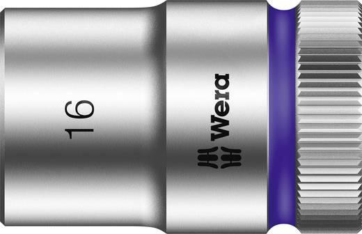 """Außen-Sechskant Steckschlüsseleinsatz 16 mm 1/2"""" (12.5 mm) Produktabmessung, Länge 37 mm Wera 05003607001"""