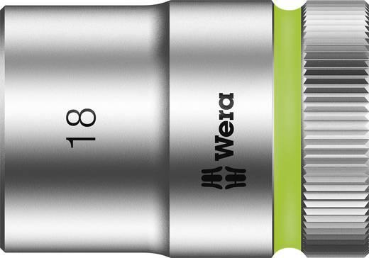 """Außen-Sechskant Steckschlüsseleinsatz 18 mm 1/2"""" (12.5 mm) Produktabmessung, Länge 37 mm Wera 05003609001"""