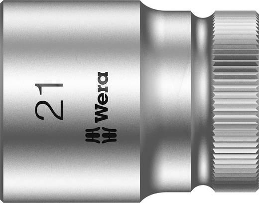 """Außen-Sechskant Steckschlüsseleinsatz 21 mm 1/2"""" (12.5 mm) Produktabmessung, Länge 37 mm Wera 05003612001"""
