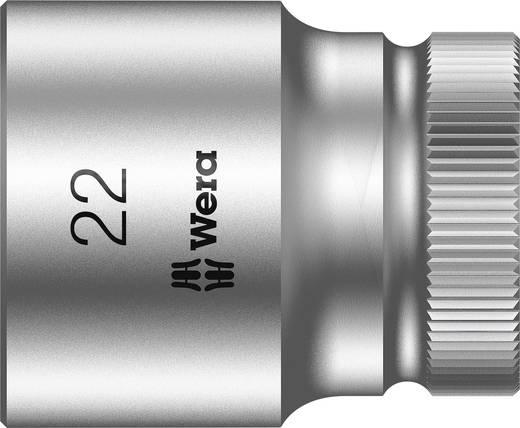 """Außen-Sechskant Steckschlüsseleinsatz 22 mm 1/2"""" (12.5 mm) Produktabmessung, Länge 37 mm Wera 05003613001"""