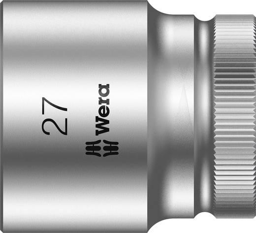 """Außen-Sechskant Steckschlüsseleinsatz 27 mm 1/2"""" (12.5 mm) Produktabmessung, Länge 40 mm Wera 05003615001"""