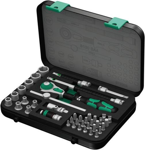 """Steckschlüsselsatz zöllig 1/4"""" (6.3 mm) 41teilig Wera 8100 SA 4 Zyklop 05003535001"""