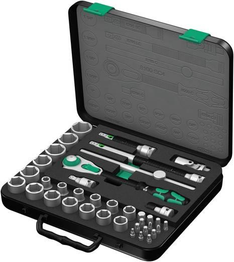 """Steckschlüsselsatz zöllig 1/2"""" (12.5 mm) 38teilig Wera 8100 SC 4 Zyklop 05003647001"""