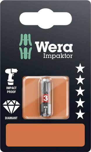 Kreuzschlitz-Bit PH 3 Wera 851/1 IMP DC SB SiS Werkzeugstahl legiert, diamantbeschichtet D 6.3 1 St.