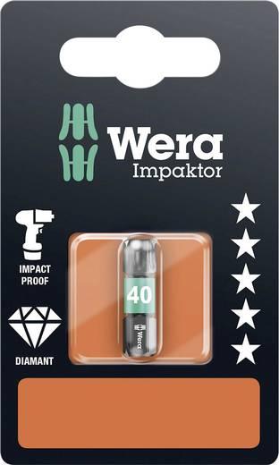 Torx-Bit T 40 Wera 867/1 IMP DC SB SiS Werkzeugstahl legiert, diamantbeschichtet D 6.3 1 St.