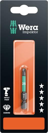 Torx-Bit T 25 Wera 867/4 IMP DC SB SiS Werkzeugstahl legiert, diamantbeschichtet F 6.3 1 St.