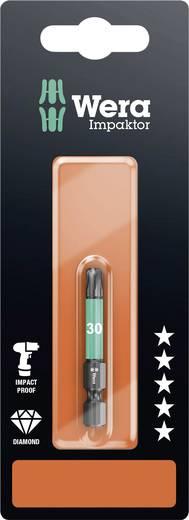 Torx-Bit T 30 Wera 867/4 IMP DC SB SiS Werkzeugstahl legiert, diamantbeschichtet F 6.3 1 St.