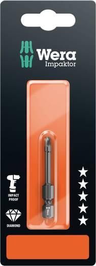 Vierkant-Bit Wera 868/4 IMP DC SB SiS Werkzeugstahl legiert, diamantbeschichtet F 6.3 1 St.