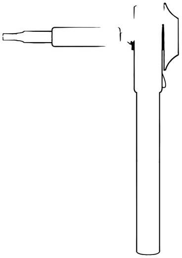 """Bit-Ratsche 1/4"""" (6.3 mm) 92 mm Donau Elektronik MBS09"""