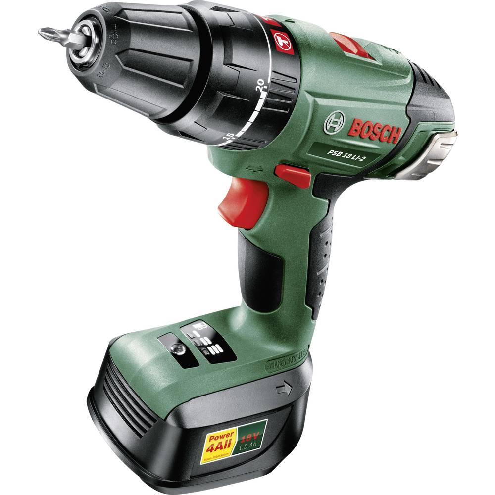 Bosch psb 18 li 2 cordless impact and screwdriver drill from - Bosch psb 18 li 2 ...