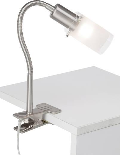 Klemmleuchte LED E14 3 W Brilliant Giorgia G05505/77 Eisen, Chrom
