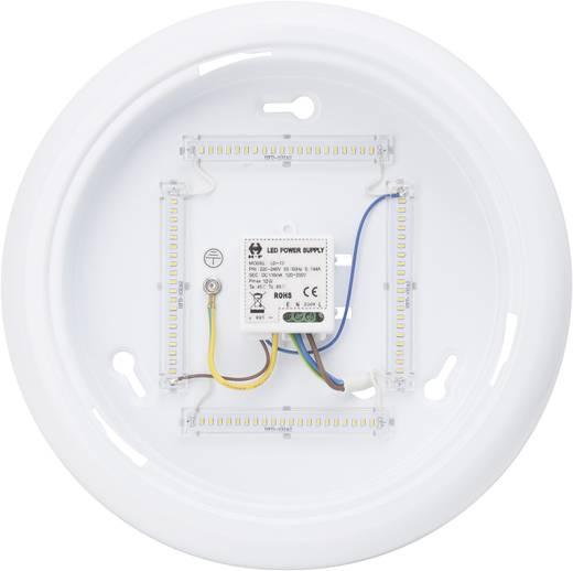 LED-Deckenleuchte 10 W Warm-Weiß Brilliant Vigor G94151/05 Weiß