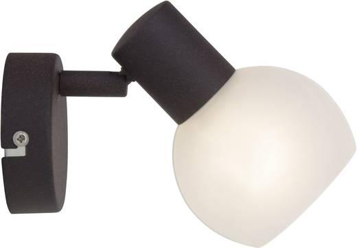 Wandstrahler E14 40 W Halogen Brilliant Gabon 12910/20 Braun, Weiß, Alabaster