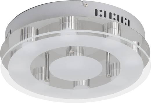LED-Deckenleuchte 27 W Warm-Weiß Brilliant Sao Paulo G94144/15 Chrom, Transparent