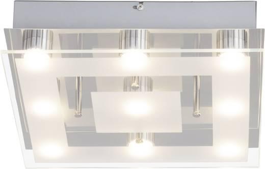 Brilliant Sao Paulo G94145/15 LED-Deckenleuchte 27 W Warm-Weiß Chrom, Transparent