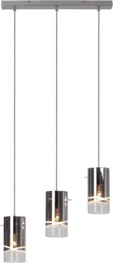 Pendelleuchte Energiesparlampe E27 180 W Brilliant Carlow 09577/15 Chrom