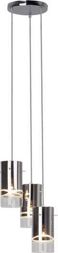 Pendelleuchte Energiesparlampe E27 180 W Brilliant Carlow 09576/15 Chrom
