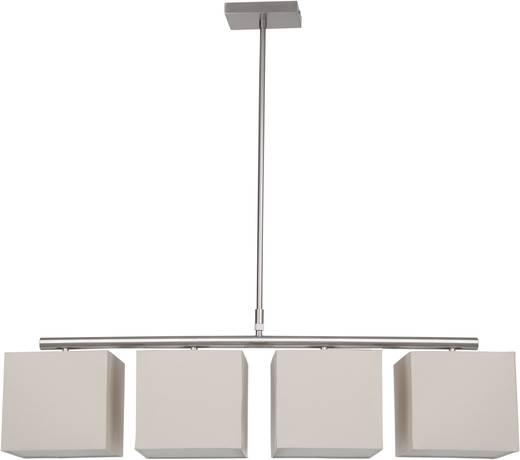 Pendelleuchte Energiesparlampe E27 160 W Brilliant Felipa 93419/09 Eisen, Beige