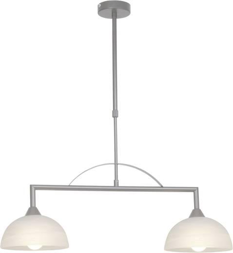Pendelleuchte Energiesparlampe E14 80 W Brilliant Boston 12871/13 Eisen, Weiß