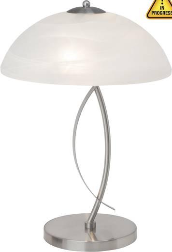 Tischlampe Halogen E14 80 W Brilliant Boston 12848/13 Eisen, Weiß