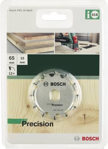 Kreissägeblatt 65 x 15 mm Zähneanzahl: 12 Bosch Accessories Precision 2609256C82 1 St.