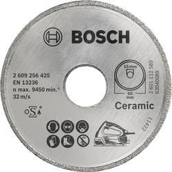 Diamantový rezací kotúč Standard pre keramiku D = 65 mm; Vŕtanie = 15 mm Bosch Accessories 2609256425, Priemer 65 mm, Vnútorný Ø 15 mm, 1 ks