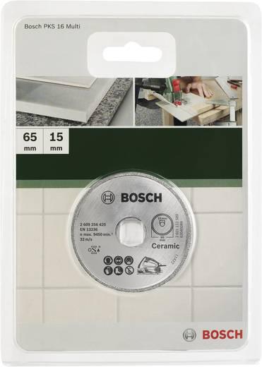 Diamanttrennscheibe Bosch Accessories 2609256425 Durchmesser 65 mm Innen-Ø 15 mm 1 St.