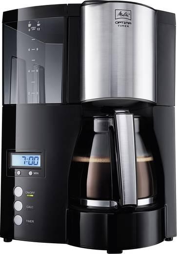 Kaffeemaschine Melitta Optima Timer black Schwarz Fassungsvermögen Tassen=12 Timerfunktion