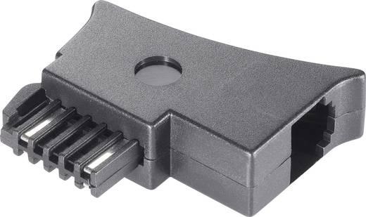 Telefon (analog) Adapter [1x Telefon-Stecker Österreich (TST) - 1x RJ11-Buchse 6p4c] 0 m Schwarz Basetech