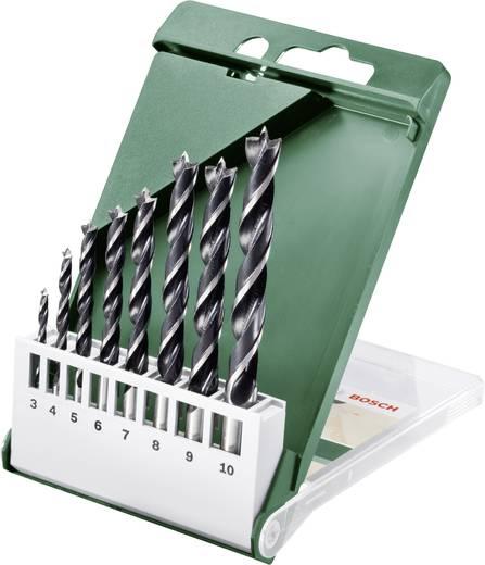 Holz-Spiralbohrer-Set 8teilig Bosch Accessories 2609255215 Zylinderschaft 1 Set