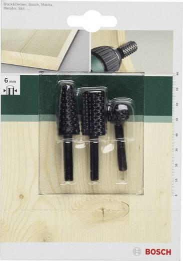 Bosch Accessories 3tlg. Holzraspel-Set Schaft-Ø 6 mm