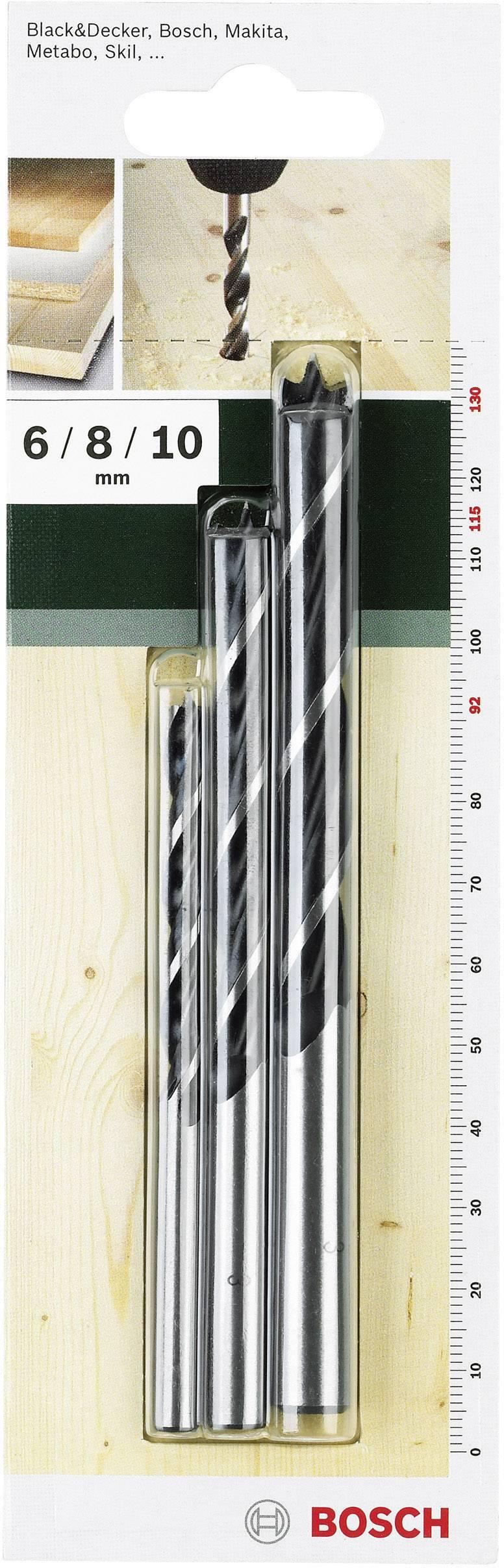 Bosch Accessories Holz-Spiralbohrer-Set 3teilig 2609255308 Zylinderschaft 1 Set