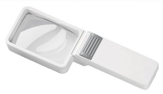 Handlupe mit LED-Beleuchtung Vergrößerungsfaktor: 3.5 x Linsengröße: (L x B) 75 mm x 50 mm Eschenbach