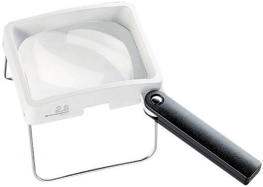 Handlupe Vergrößerungsfaktor: 2.8 x Linsengröße: (L x B) 100 mm x 75 mm Weiß, Schwarz Eschenbach 2032