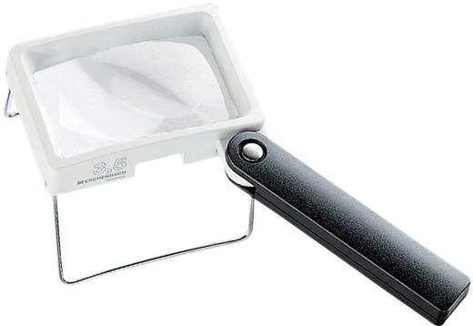 Handlupe Vergrößerungsfaktor: 3.5 x Linsengröße: (L x B) 75 mm x 50 mm Weiß, Schwarz Eschenbach