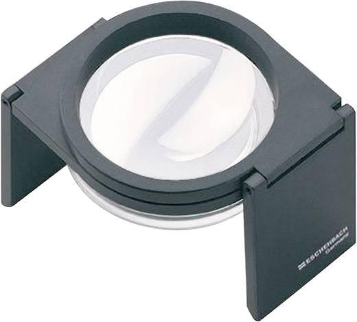 Handlupe Vergrößerungsfaktor: 2.5 x Linsengröße: (Ø) 60 mm Schwarz Eschenbach 20501