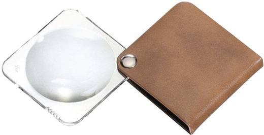 Leder-Einschlaglupe Vergrößerungsfaktor: 3.5 x Linsengröße: (Ø) 50 mm Braun Eschenbach 1752850