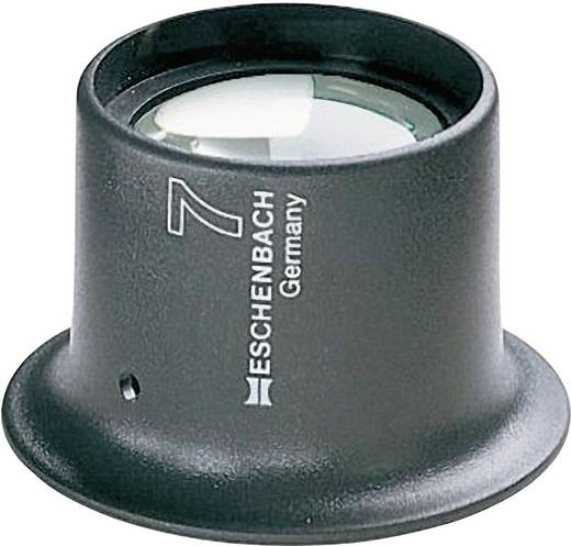 Uhrmacherlupe Vergrößerungsfaktor: 7 x Linsengröße: (Ø) 25 mm Anthrazit Eschenbach 11247