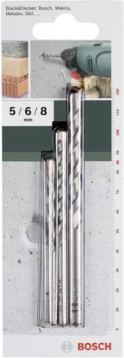 Hartmetall Beton-Spiralbohrer-Set 3teilig Bosch Accessories 2609255416 Zylinderschaft 1 Set