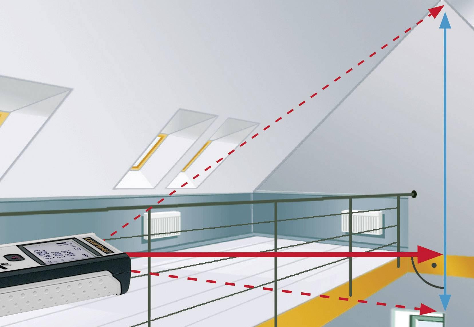 Laserliner pocket laser entfernungsmesser messbereich max m