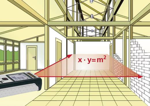 Laserliner Pocket Laser-Entfernungsmesser Messbereich (max.) 40 m Kalibriert nach: Werksstandard (ohne Zertifikat)
